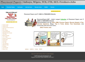 placementpapers.net