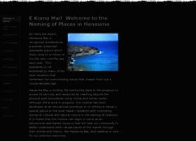placenamesofhanauma.weebly.com