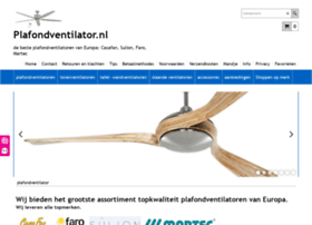 plafondventilatoren.nl