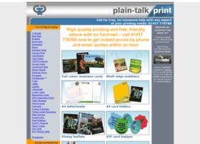 plaintalkprint.com