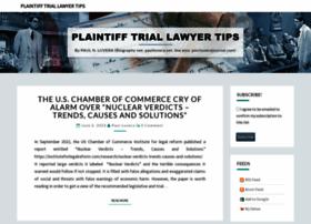 plaintifftriallawyertips.com