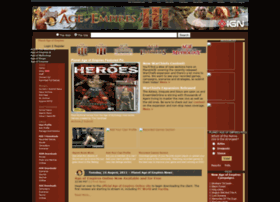 planetageofempires.gamespy.com