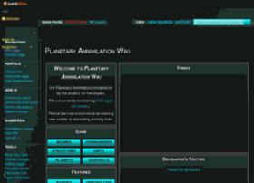 planetaryannihilation.gamepedia.com