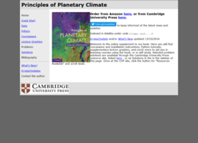 planetaryclimatebook.org