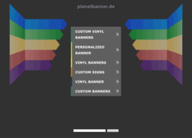 planetbanner.de