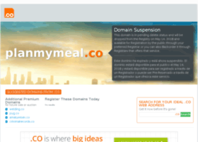 planmymeal.co