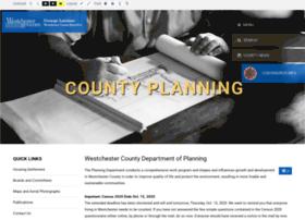 planning.westchestergov.com