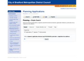 planning4bradford.com