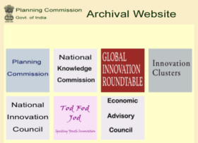 planningcommissionarchive.nic.in