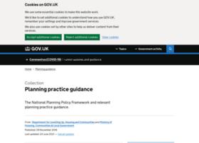 planningguidance.planningportal.gov.uk