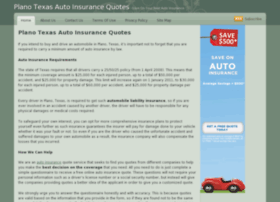 texas auto insurance quotes plano texas drivers compare auto insurance ...