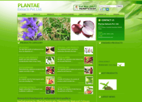 plantaeextracts.com