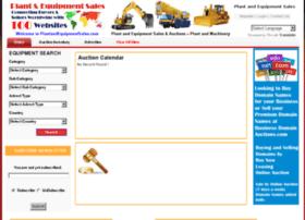plantandequipmentsales.com