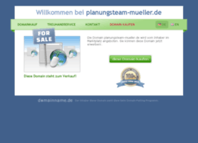 planungsteam-mueller.de