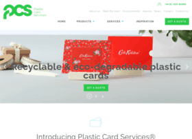 plastic-card-services.co.uk