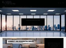 plasticsforlighting.biz