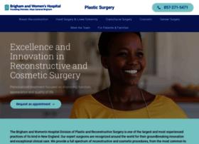 plasticsurgery.brighamandwomens.org