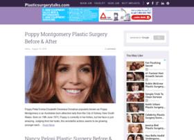 plasticsurgerytalks.com