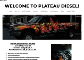 plateaudiesel.com