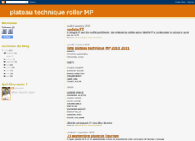 plateautechniquerollermp.blogspot.com