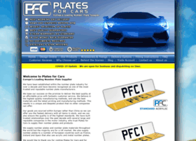 platesforcars.co.uk
