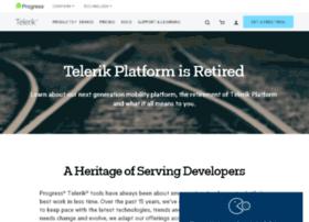 platform.telerik.com