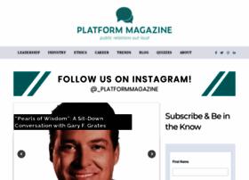 platformmagazine.org