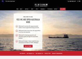 platinumfreight.com.au