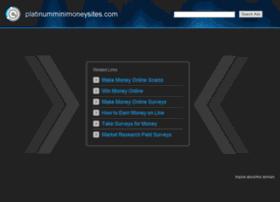platinumminimoneysites.com