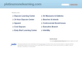 platinumonelearning.com