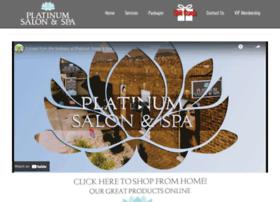 platinumsalonspa.com
