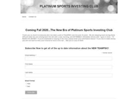 platinumsportsinvesting.com