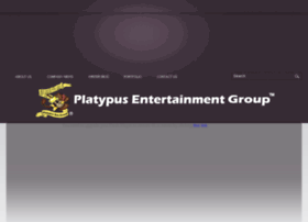 platypusentertainmentgroup.com