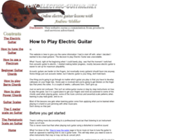 play-electric-guitar.net