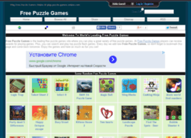 Free online puzzle games websites and posts on free online puzzle