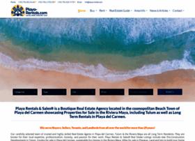 playa-rentals.com