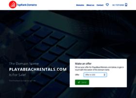 playabeachrentals.com