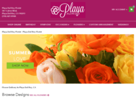 playadelreyflorist.bloomnation.com