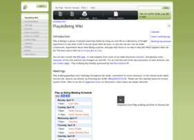 playasbeing.org