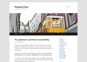 playbacktime.com
