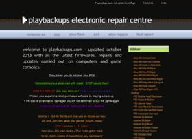 playbackups.com