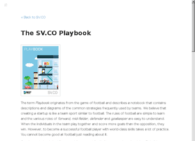 playbook.sv.co