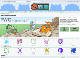playerdex.pokemon-world-online.com