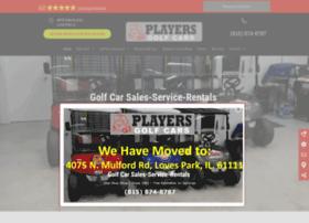 playersgolfcars.com