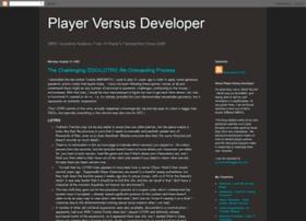 playervsdeveloper.blogspot.com
