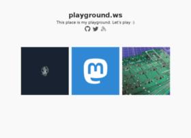 playground.ws