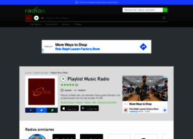 playlistlawebradio.radio.fr