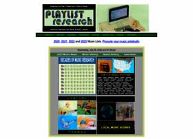 playlistresearch.com