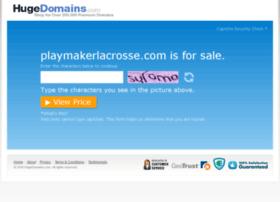 playmakerlacrosse.com