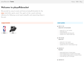 playoffsbracket.com
